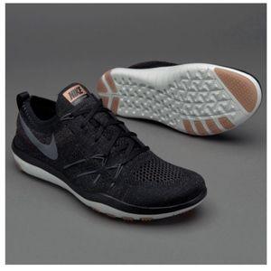 Nike Free Focus Flyknit Training Shoe - Rose Gold